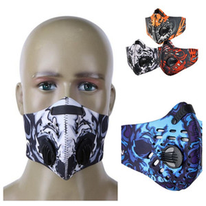 máscara caliente polvo con válvula y filtro de material de buceo estereoscópica cómodo mascarilla máscaras de diseño transpirable T2I5984