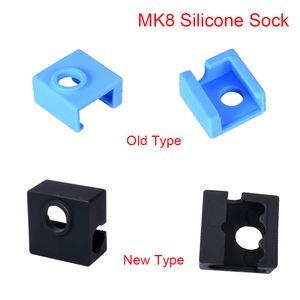 Printer Impressora 3D Parts Acessórios 3D Parts MK8 Silicone Sock Capa protetora Para aquecida Bloco J-cabeça Hotend MK8 Extrusora Bico Heater