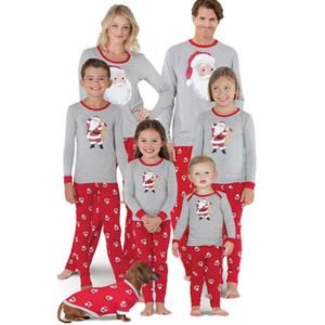 Corrispondenza Family Christmas Pajamas Set età Donne Bambini Pigiameria da notte Homewear