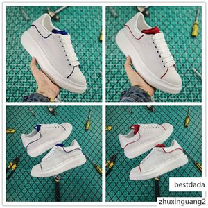 2019 New Designer White Blue Red Canvas Casual Shoes for Good quality Women Sneakers Low-top fashion Outdoors Luxury Trainers Size 35-40