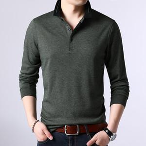 ICPANS alta calidad Camisas de algodón de los hombres camisas de manga larga Regular Fit homme Tops Camisas verano más tamaño XXXL 4XL