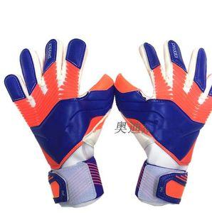 Fashion-guanti per gli uomini Ace Trans Pro senza Finger Salva 4MM Calcio guanti di lattice portiere guanto allenamento di calcio Guanti