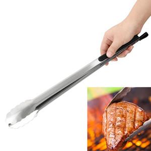 Salada Churrasco Clipe Food churrasco Tongs de aço inoxidável de cozinha ferramentas ferramentas multifunções grelha de assar Grampo Grampo churrasco Acessórios