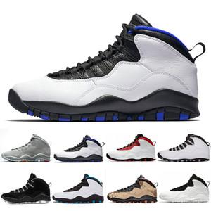 Nuevo Hombres 10 10s Zapatos de baloncesto Westbrook Cement Estoy de vuelta Blanco Negro Bobcats Chicago Powder Blue Deportes deportivos al aire libre 41-47
