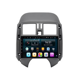 Reproductor de automóvil Android con resolución GPS precisa HD 1024 * 600 pantalla multitáctil bluetooth reproductor multimedia música para Nissan sunny 9 pulgadas