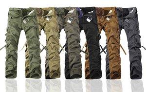 concepteur 20SS Pantalon Worker DE NOËL NOUVEAU CASUAL ARMY CARGO MENS CAMO PANTS DE TRAVAIL DE COMBAT 6 COULEURS Pantalon TAILLE 28-38 gros