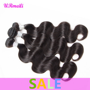 Malaysian Body Wave Bundles 10a grade virgin hair 3 4 Pieces Machine Double Weft Hair Extensions Malaysian Body Wave Virgin remy hair weave