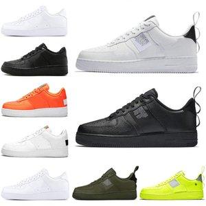 Nike Air Force 1Yeni Varış 1 Erkekler ve Kadınlar Koşu Ayakkabı Mavi renk tonları CDG Dünya Günü Yeşil Abyss Koşucu Eğitmen Spor Sneaker boyutu 36-45