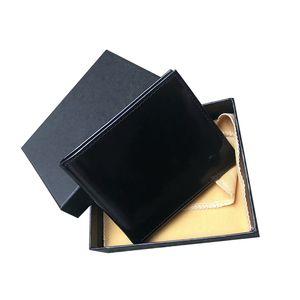 Mens Brand Wallet free shippingTop Designer Men's Leather With Wallets For Men Purse box dust bag Short Card holder pocket Fashion Purse