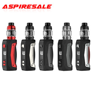 Authentic Geekvape Aegis Max Kit Support Single 21700 18650 Battery and 5ml Zeus Sub Ohm Tank with KA1 Z1 Z2 Mesh Coil