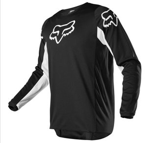 019 new hot sale tide brand downhill suit outdoor riding long-sleeved T-shirt men's shirt mountain bike racing suit polyester quick-drying s