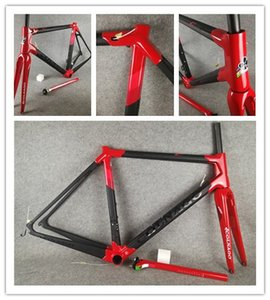 Colnago C64 carretera cuadro de la bicicleta marco brillante mate de carbono 2019 PJRD marco del camino del carbón de la bicicleta roja