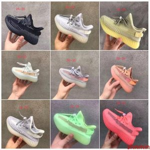 True Form Infant v2 Hyper space Kids Running shoes Clay Kanye West Fashion toddler trainers big small boy girl Children Toddler sneakers