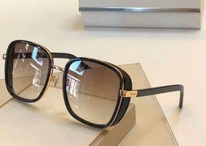 ELVA / S oro blu / blu sfumato Occhiali da sole quadrati Donne Occhiali da sole Occhiali da sole nuovo con la scatola