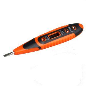 12-250V Цифровой детектор напряжения датчика тестер Электрические испытания Pen AC / DC напряжения Измерение Detector Meter Tester