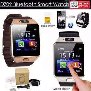 dz09 смарт часы SmartWatch браслеты SIM-интеллектуальное мобильный телефон часы может записать состояние сна samsung смарт-часы релох inteligente