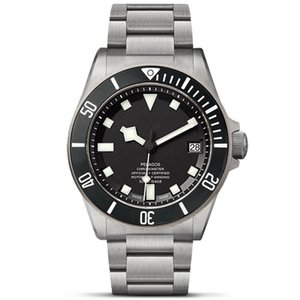 Luxusuhr Mens Top-Qualität Keramik-Lünette 42MM Voll Edelstahl Auto Date Automatik-Uhrwerk wasserdicht Super leuchtende Uhren