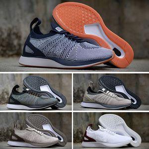 NIKE Air Flyknit Racer Be True 2 2018 neuer Großhandel Zoom Mariah Fly Racer 2 3 Frauen Männer Freizeitschuhe Zoom Racers Sneaker Trainer leichte atmungsaktive Schuhe 36-45