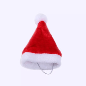 Adorable Cute Cat Dog Christmas Hat