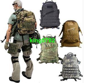 55L 3D Outdoor Sport shoulder Tactical climbing mountaineering Backpack Camping Hiking Treking Rucksack Travel Backpacks mens lage Bag