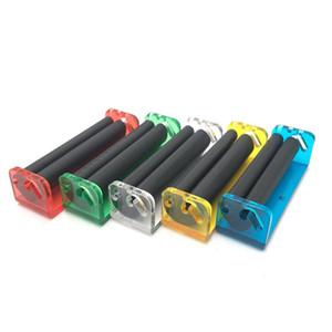 매뉴얼 (70) 78MM 휴대용 미니 담배 압연 기계 담배 인젝터 흡연 액세서리 흡연 롤러 담배 롤링 도구 VT0175