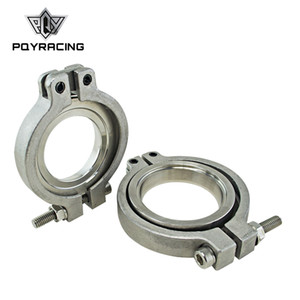 PQY - Juego de abrazaderas / abrazaderas de banda V para MVS 38mm WASTEGATE Kit de bandas en V PQY5831FC