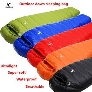 CADENO Winter Autumn Ultra Light Mummies Ultra Light Down Sleeping Bag Outdoor Travel Camping Nylon White Duck Down Sleeping Bag