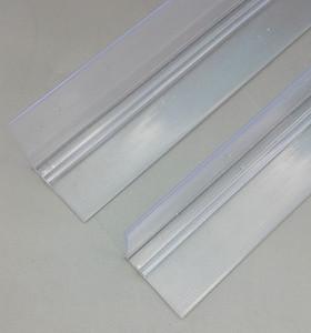 Kunststoff-Regal-Gleitschienen speziell abgestimmt mit Supermarkt-Einzelhandelszigaretten, die System-Schieber-Teiler-Ausrüstungen durch kundenspezifische Länge drücken