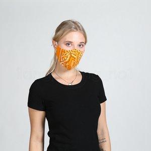 5styles floral impreso enmascarar de manera personalizada a prueba de polvo máscara de algodón transpirable lava máscaras protectoras de diseño suaves al aire libre FFA4082-3
