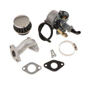 PZ19 Carb 19mm Carburateur Filtre à air pour 50cc 70cc 90cc 110cc ATV Quad avec tuyau d'admission Joint