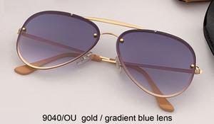 2019 جديد مصمم العلامة التجارية أعلى الإطار المعدني الحريق النظارات الشمسية النساء الرجعية طيار مرآة فلاش الشمس نظارات oculos دي سول feminino gafas rd3584N