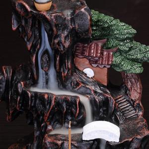 """Creativo y fluido incensario de la vendimia inversa de agua de Prelación de Transmisión de sándalo humo """"quemador de incienso cubierta de marcha altos diciembre"""