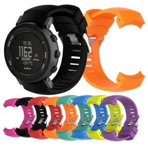 Esporte banda para Suunto Core ALU Watch Band Silicone Assista bracelete Pulseira Outdoor Sports inteligente pulseira