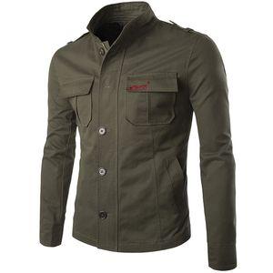 Herren One Button Printed Blazer Casual Full Dress Anzug im westlichen Stil Kleidung 2018 Baumwolle Jungen Tooling Jacke Trend Aowofs Over SH190902