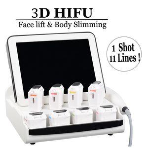 20500 Shots Anti-rugas 3D HIFU pele facial aperto Perda de Peso Corporal Slimming HIFU High Intensity Focused Ultrasound HIFU Equipment