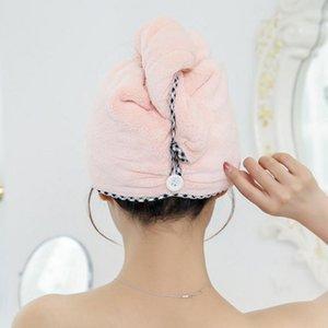 Shower Cap Women Pretty Bath Hat Bath Saunas Spa Hair Cover Hair Speed Dry Bathing Caps