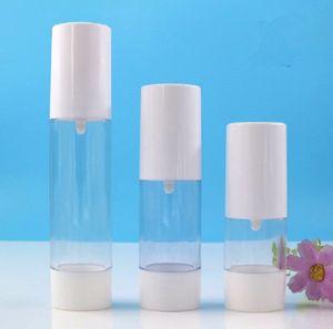 2020 new 50ml Travel perfume atomizer Transparent Perfume Vacuum Spray Refillable Bottle cosmetic cream Storage container