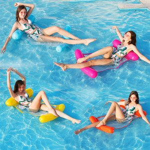 풍선 물 해먹 에어 매트리스 침대 수영장 비치 안락 부동 슬리핑 쿠션 접이식 물 재미 스포츠 장난감 좌석 의자