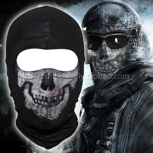 New Black Ghost Simon Riley crâne Balaclava ski capuche cyclisme Skateboard chaud masque facial Ghost