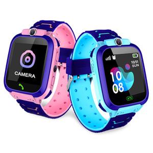 Nouveau étanche Q12 Montre multifonction intelligent enfants numérique Montre Baby Watch Phone pour IOS Android Kids Toy cadeau