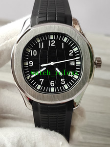 Melhor vender novo fornecedor fábrica Nautilus Relógio de luxo Aquanaut 40 milímetros 5167A-001 faixas de borracha preto do esporte Mecânica Automatic Mens Relógios