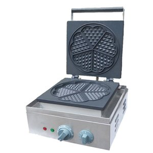 BEIJAMEI máquina de hacer gofres comercial máquina de hacer gofres eléctrica en forma de corazón / máquina de panqueques belga waffle baker para la venta