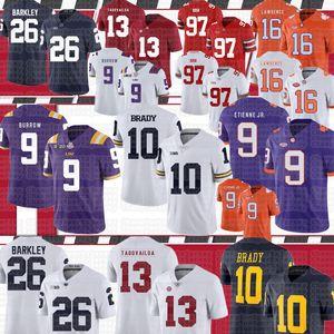 NCAA 9 Travis Etienne Jr 10 Tom Brady 97 Nick Bosa Ohio State Buckeyes 16 Trevor Lawrence American football