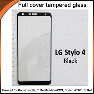 Закаленное защитное стекло 2.5D из закаленного стекла с корпусом 10in1 для LG Stylo3 / Stylo4 / K10 2018 / K30 / Q7 / X Power3