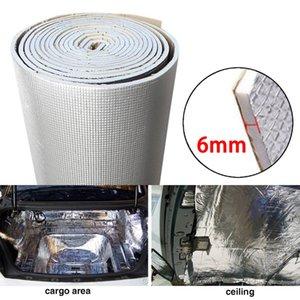 6 millimetri 236mil spessa lamina di alluminio + silenziatore Cotton auto al coperto suono termico fonoassorbente isolamento acustico Dampening Mat
