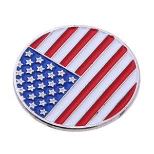 Гольф-клуб Бал Маркер и США Америка Флаг Magnetic Golf Hat Clip - идеальный подарок для мужчин женщин Гольфист