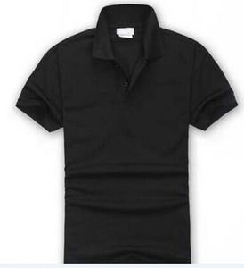 Hot Sell New Fashion crocodile Polo Shirt Men Short Sleeve Casual Man's Solid classic t shirt Polo Shirts SIZE S-3XL