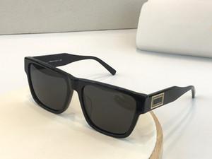 Nuevas 4379 gafas de sol para los hombres UV cuadrado desfile de moda marco de diseño simple estilo popular de calidad superior 400 gafas al aire libre vienen con el caso
