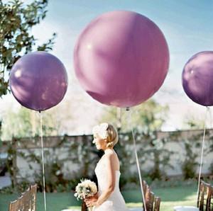 10pcs 36 inch Colorful Big Latex Balloons Giant Balloon Wedding Birthday Party Balloon Decoration 2020 New