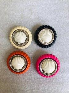 Al por mayor-shippig estilo de la mezcla botón del rhinestone adorno con la caña para el centro de arco de pelo